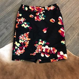 Floral pencil skirt from target