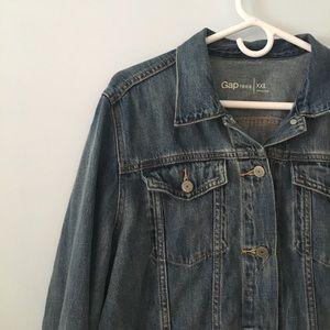 Gap like new jean jacket