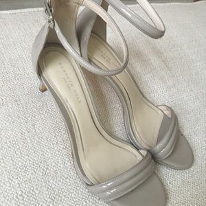 Kenneth Cole Sandal Heels Gray Size 9