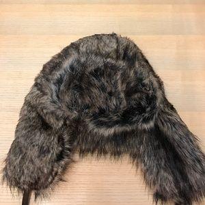 Fuzzy winter hat NWT