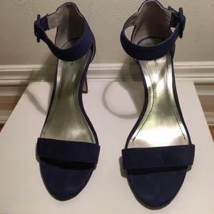 Style&co.  Blue heels.