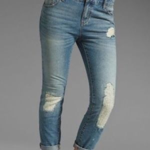 """NWT Free People """"philly wash"""" Jeans size 26"""