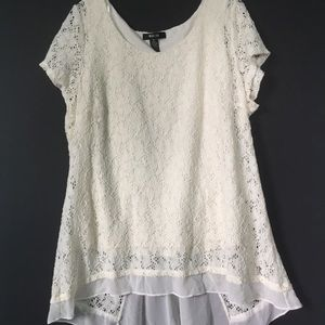Lace Tunic Fully Lined XL