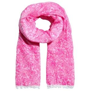 Lilly Pulitzer Target see ya later PomPom scarf