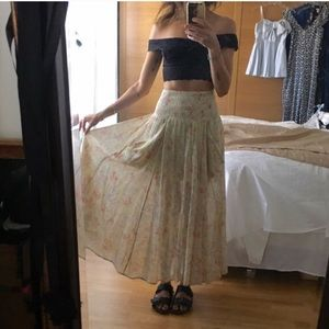 Urban Outfitters Kimchi Blue maxi skirt