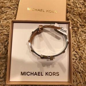 Silver and gold Michael Kors bracelet