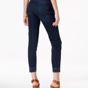 Lucky Brand Brooke Ankle Skinny Crawley Crop jeans