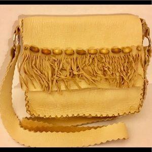 Crossbody Artisanal Leather Crossbody Bag
