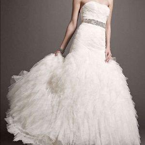 Galina Signature GSW523 ivory wedding gown