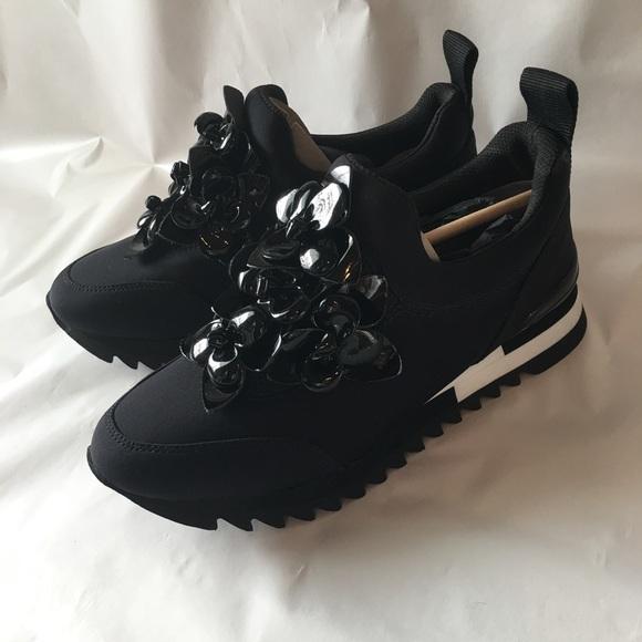 917b7486fe934 Tory Burch Blossom Neoprene Sneakers