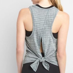 GapFit | Breathe tie-back tank