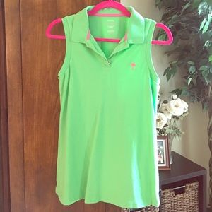 Lilly Pulitzer collared tank