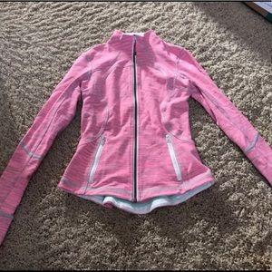 Pink & gray jacket