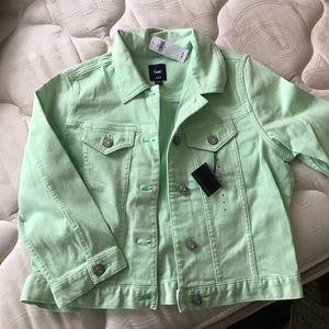 Gap crop jacket