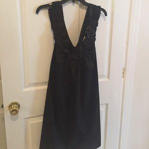 Zara Cotton Black dress