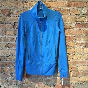 Lululemon blue zip up jacket, sz 6, 54348