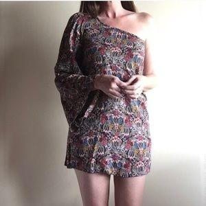 Zara One Shoulder Dress - Small