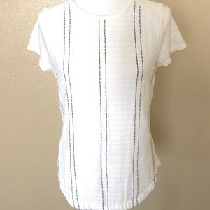 Lou and Grey Womens Top Blouse Short Sleeve