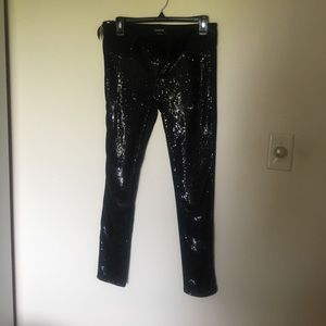 Bebe. Sequined pants NWT.