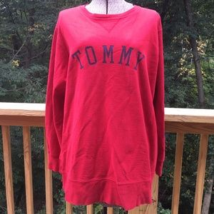 Retro Graphic Tommy Hilfiger Red Tommy Crew 1X