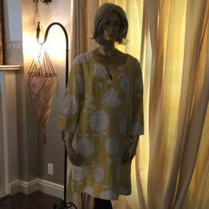 Boden mustard yellow dress