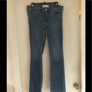 ABERCROMBIE & FITCH  LOW RISE JEANS BOOT CUT