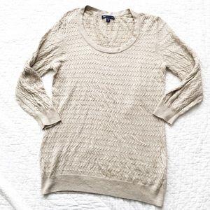 Gap Oatmeal Heather Sweater sz M