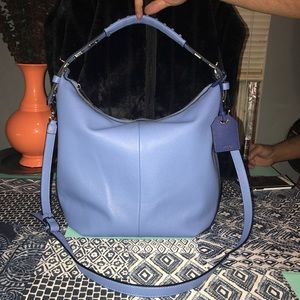 Reed Brand New Pebble Blue Leather Bag