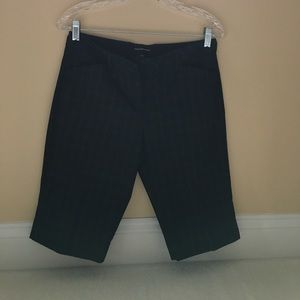 Express work shorts. Black  size 4 editor fit