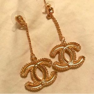 Chanel 18K gold plated✨