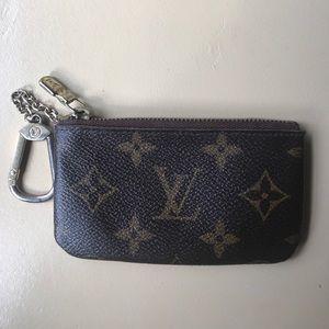 100 percent authentic Louis Vuitton key case