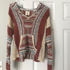Billabong knit hoodie