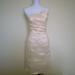 Romeo and Juliet Couture Champagne Dress