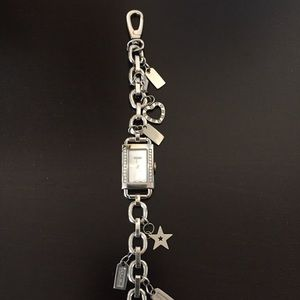 Coach Accessories Charm Bracelet Watch Poshmark