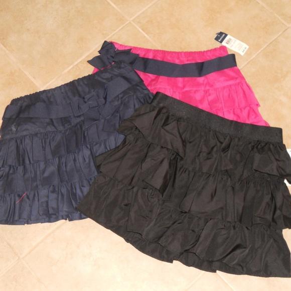 Ralph Lauren Other - Bundle of 3 Ralph Lauren Ruffle Skirts Sz 14 NWT