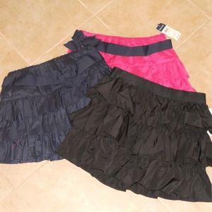 Bundle of 3 Ralph Lauren Ruffle Skirts Sz 14 NWT