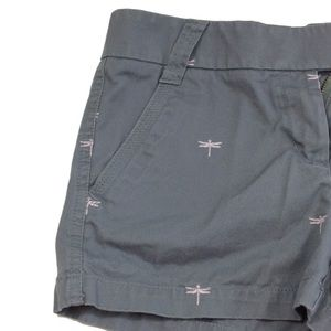 J. Crew Factory Chino dragonfly shorts size 4