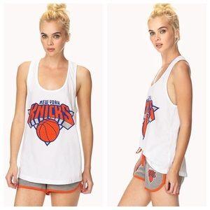 NY New York Knicks Rhinestone Bling tank
