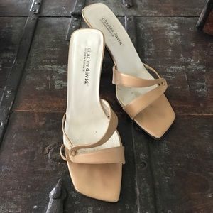 Charles David Strappy Sandals by Nathalie M Sz 8
