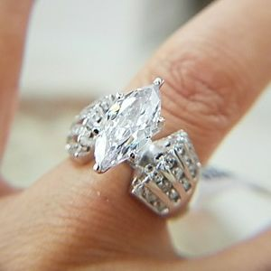 3ct Marquise Engagement Ring
