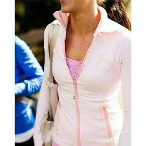 Lululemon quartz blush Define jacket