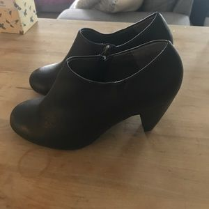 Brand New Black Heeled Booties