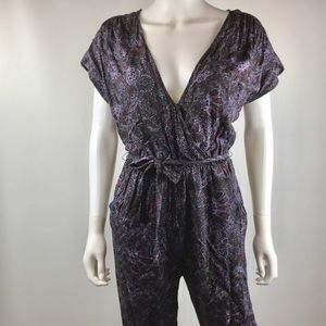 Free People Universal Jumpsuit Deep V-Neck XS