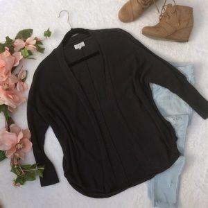 Lou & Grey blue/gray shrug sweater