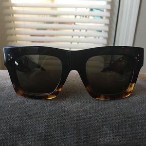 Celine sunglasses- black Havana style