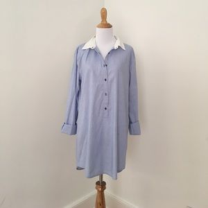 J. Crew Button Up Shirt Dress