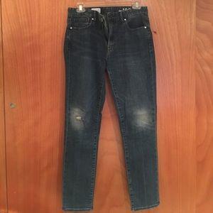 Gap Skinny High Rise Jean