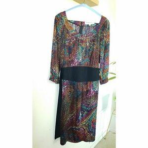 Trina Turk geo print dress