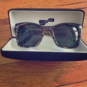 Like new ✨ spitfire sunglasses ✨ leopard print