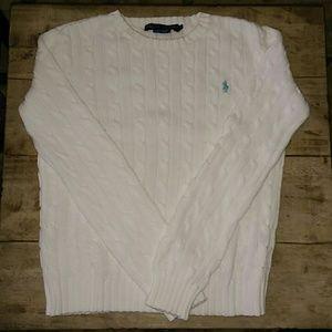 Ralph Lauren Cable-knit 100% Cotton Sweater
